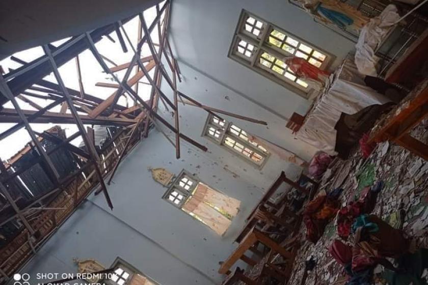 미얀마군, 무장반군 기습에 가톨릭 성당 포격…12명 사상
