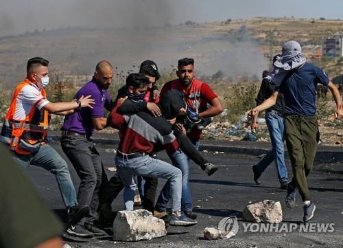 요르단강 서안 반이스라엘 시위서 팔레스타인인 1명 사망