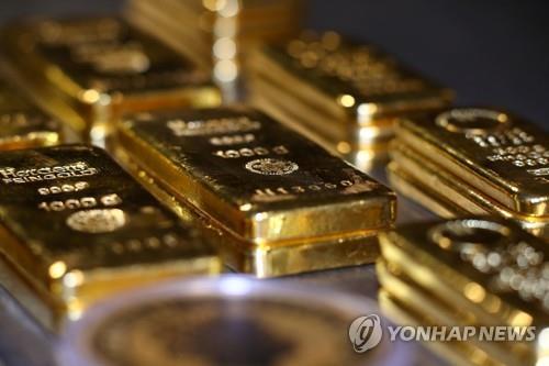 11개월만의 최고치 기대 5월 금값 상승률