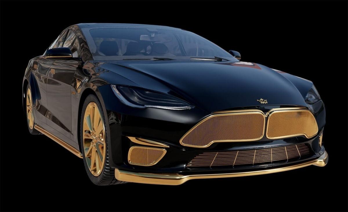 `24K 골드버전` 테슬라 모델S...가격은?