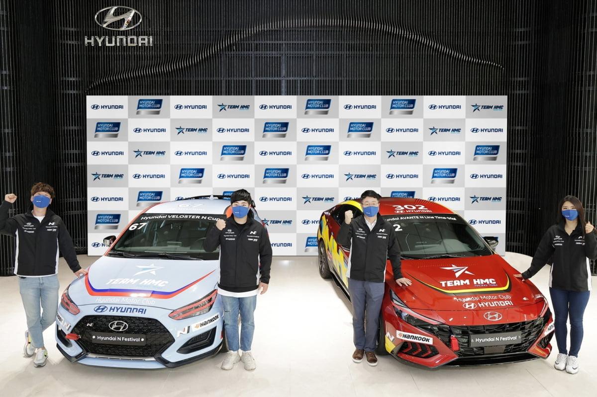 현대차, 5년 연속 `TEAM HMC` 레이싱팀 후원 결정