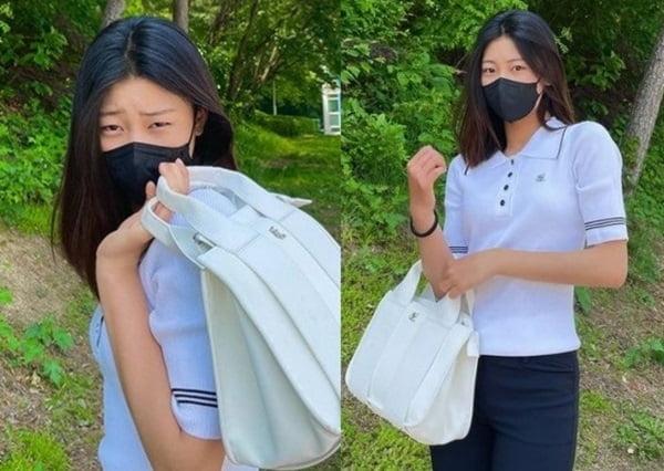 """박연수 딸 송지아, 예뻐진 근황 """"살짝 전지현 느낌"""""""