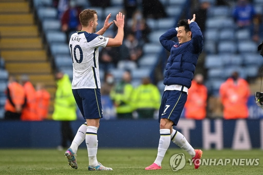 손흥민, `역대급 시즌` 보내…리그 득점랭킹 4위