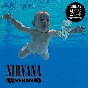 너바나의 명반 'Nevermind', 20주년 기념앨범. 사진=한경 DB