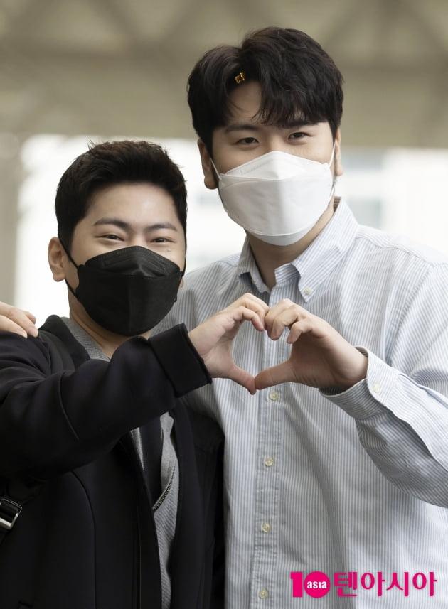 [TEN 포토] 라포엠 박기훈-정민성 '눈부신 콘서트 사랑해주세요'