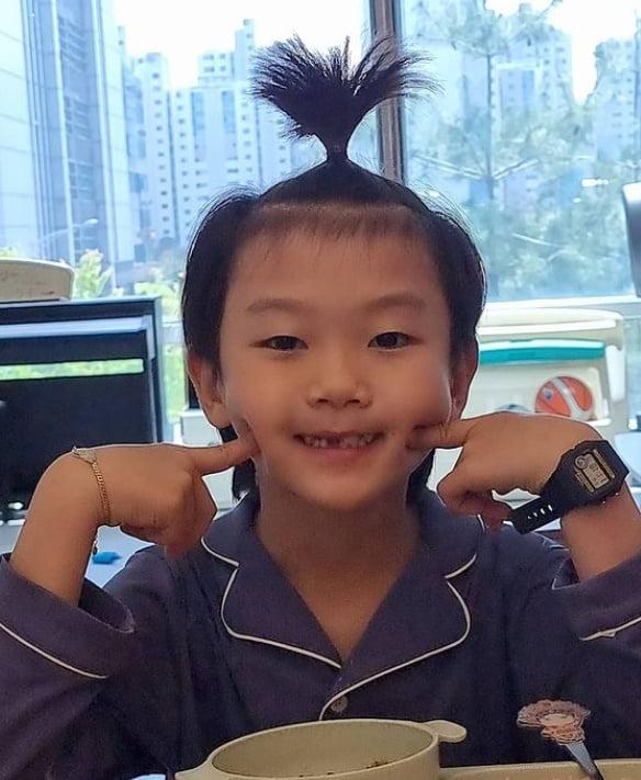 축구선수 이동국 아들 시안 군/사진 = 이수진 인스타그램