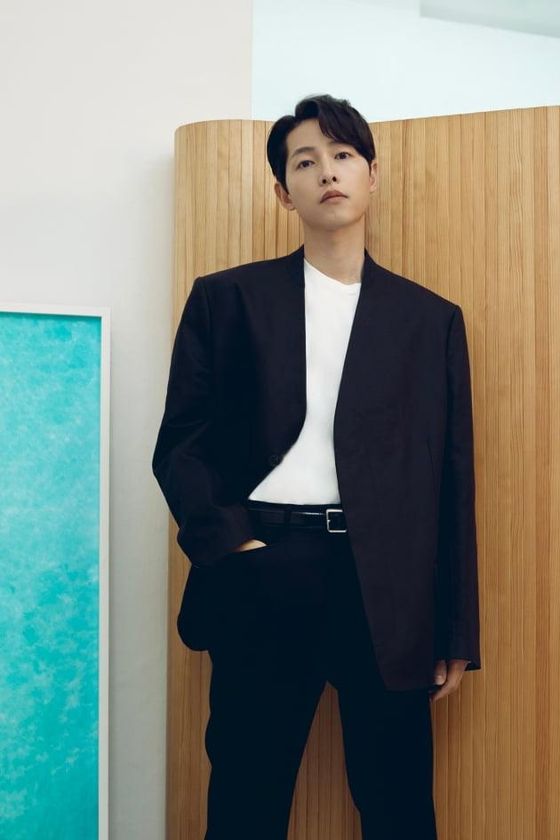 tvN 토일드라마 '빈센조'에서 이탈리아 마피아 '까사노 패밀리'의 콘실리에리 빈센조 까사노 역으로 열연한 배우 송중기. /사진제공=하이스토리 디앤씨
