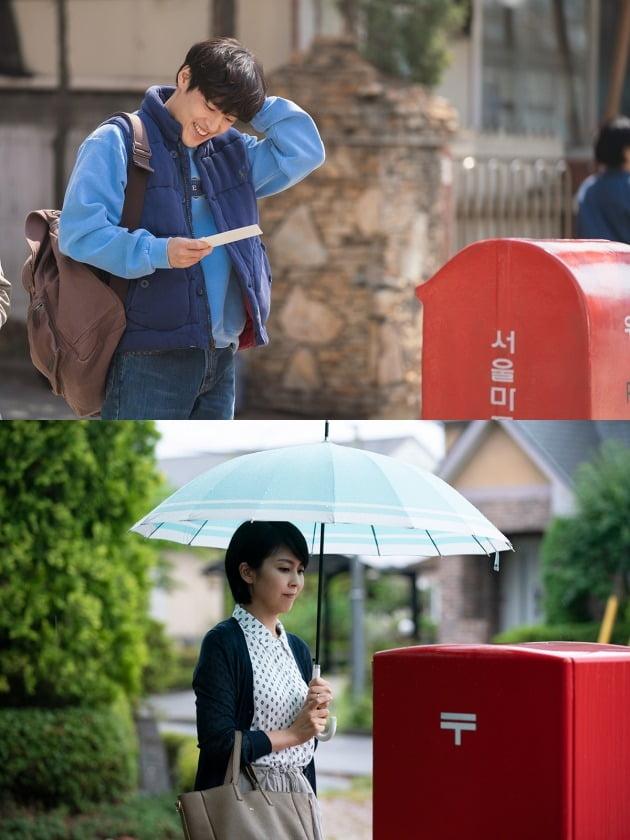 영화 '비와 당신의 이야기' 스틸(위)과 '라스트 레터' 스틸 / 사진제공=키다리이엔티, 미디어캐슬