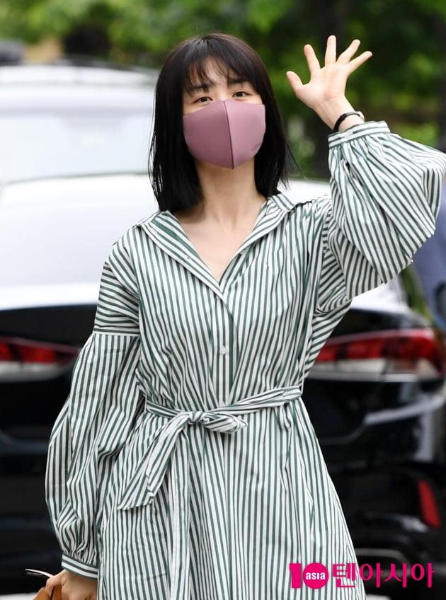[TEN 포토] 박하선 '매력 넘치는 인사'