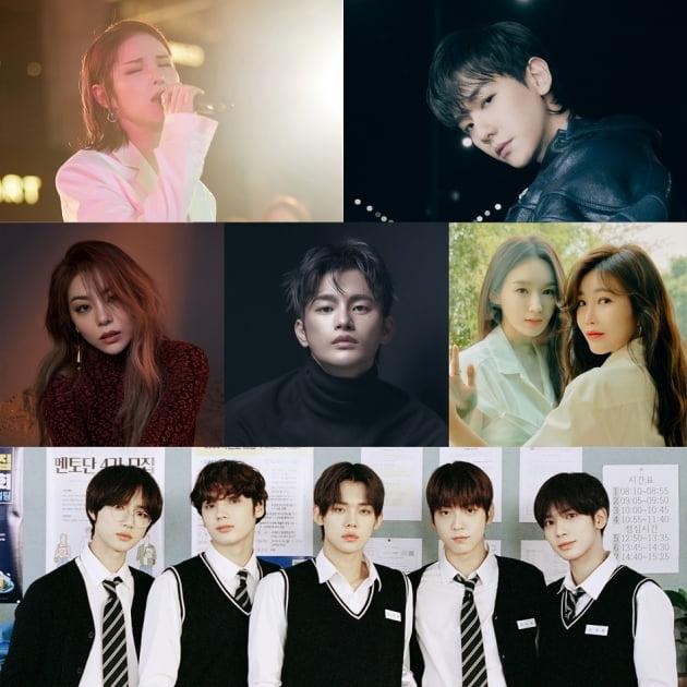 '멸망'  OST 참여 아티스트/ 사진=뮤직앤뉴 제공