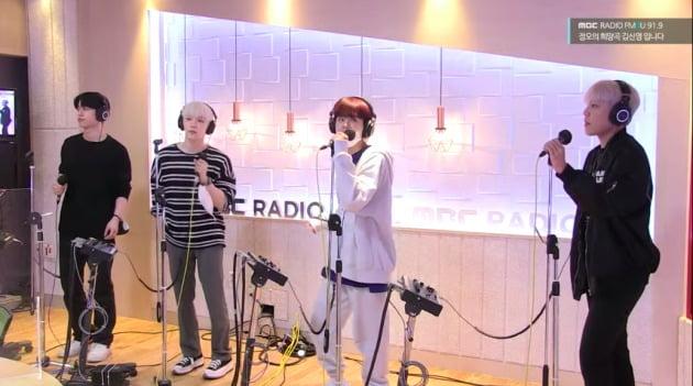 사진=MBC FM4U '정오의 희망곡 김신영입니다'