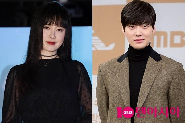 배우 구혜선(왼쪽)과 안재현/ 사진=텐아시아DB