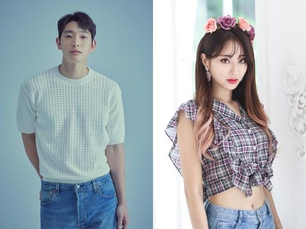 가수 겸 배우 정진운(왼쪽)과 경리 / 사진제공=각 소속사