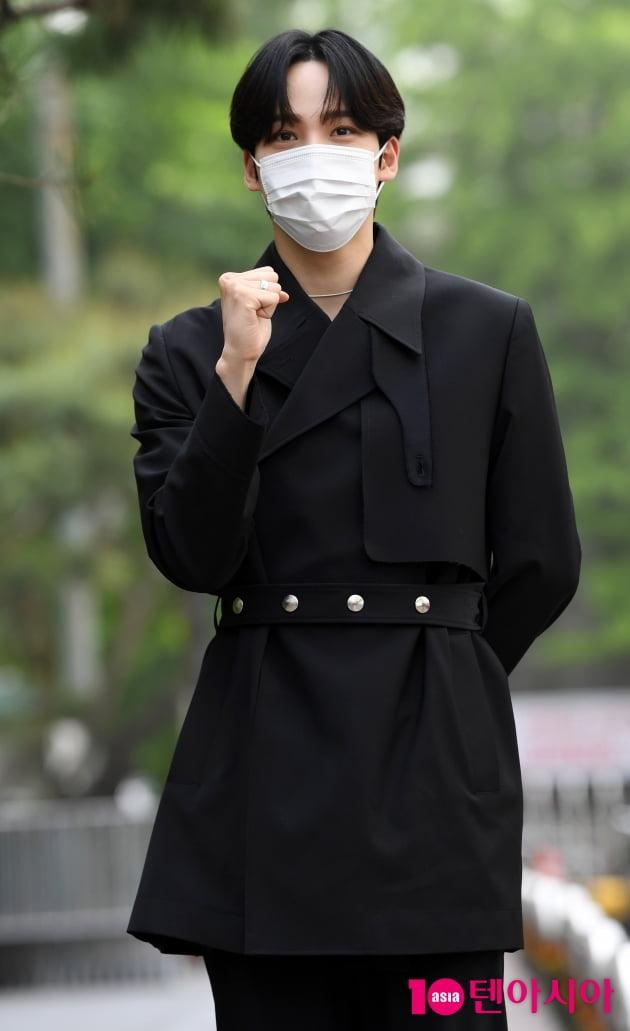 [TEN 포토] 에이티즈 윤호 '가수가 아닌 배우로 왔어요'