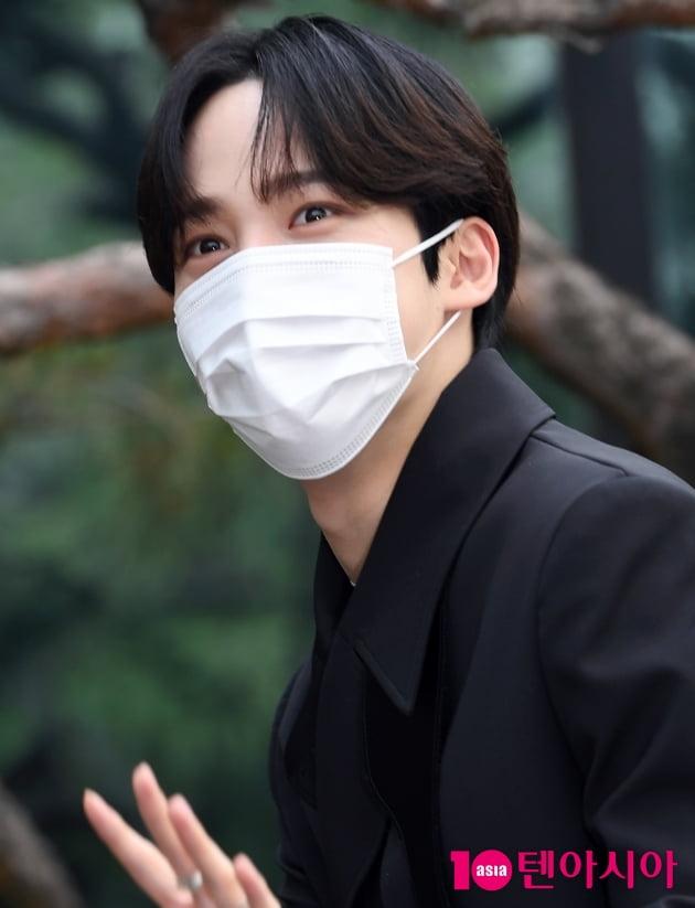 [TEN 포토] 에이티즈 윤호 '달콤한 눈빛'