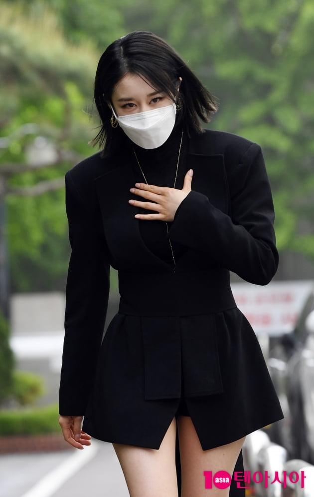 [TEN 포토] 박지연 '빛나는 미모에 눈이 부셔'