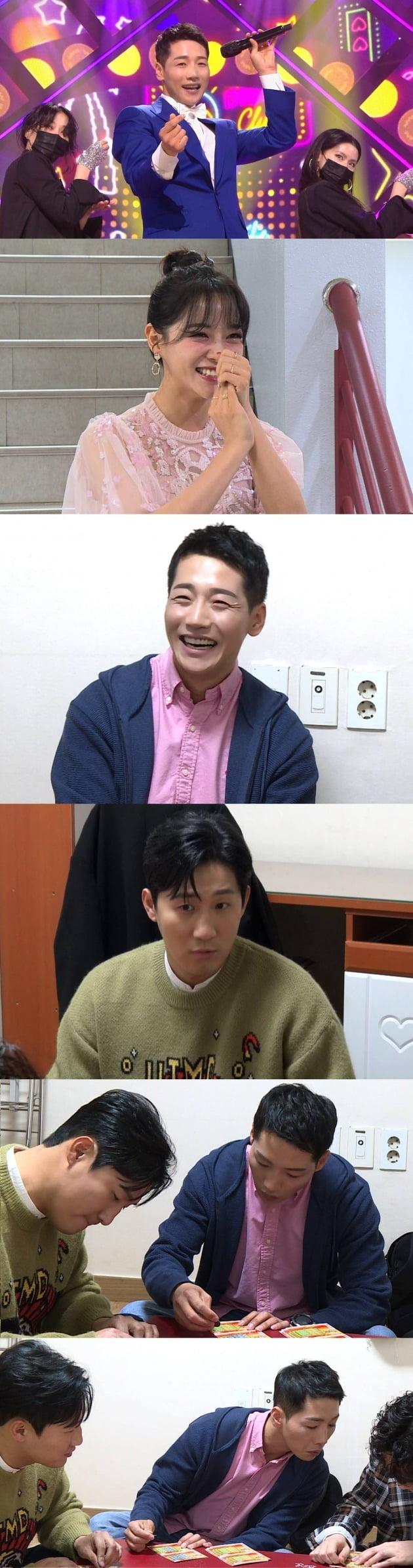 박군의 동료들이 박군의 '인기가요' 데뷔 응원에 나선다. / 사진제공=SBS '미운 우리 새끼'