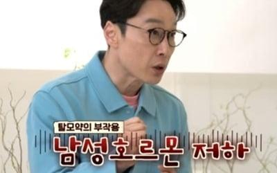 """이휘재 """"♥문정원 여자로 안 보여…탈모약 부작용"""""""