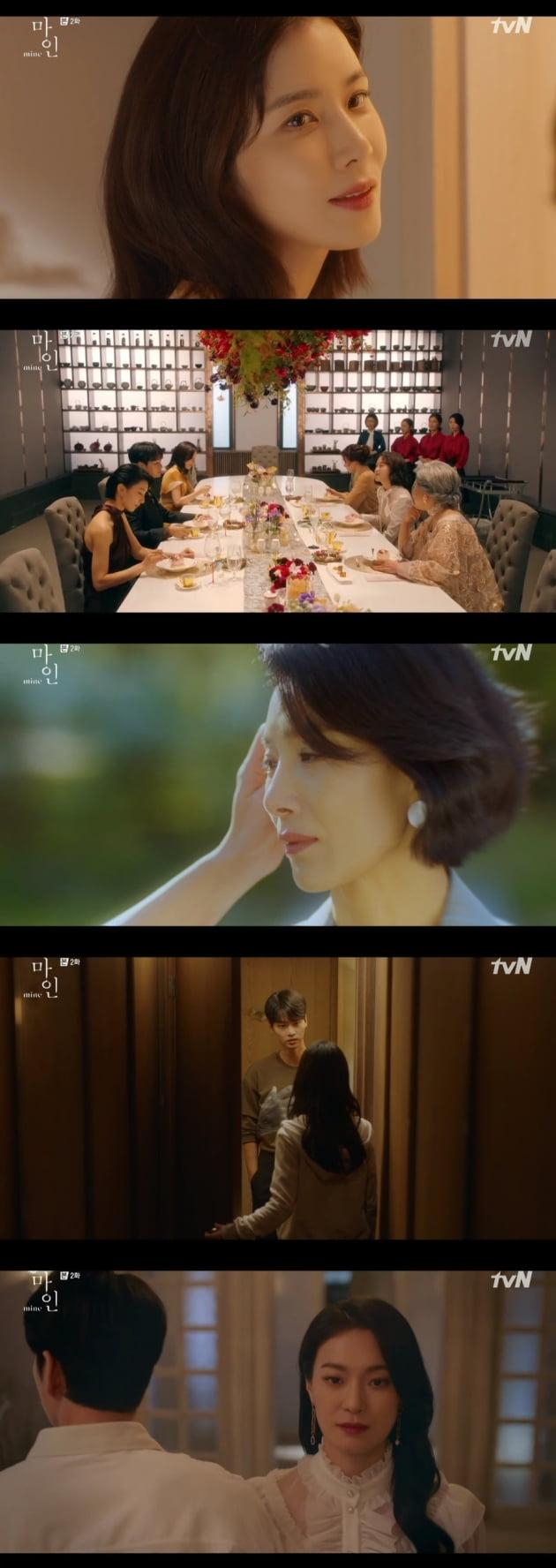 '마인' 김서형, 동성애자였다…이현욱X옥자연 '묘한 스킨십' [종합]