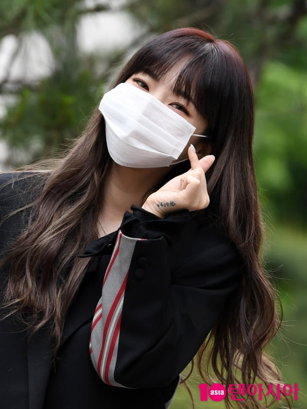 [TEN 포토] 헤이즈 '오늘도 열일하는 미소'