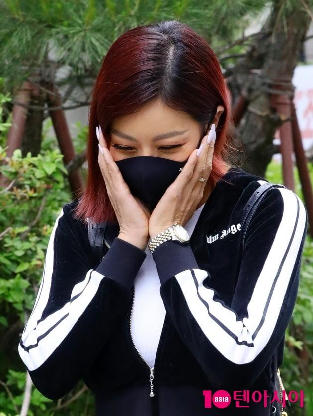 [TEN 포토] 제시 '수줍은 꽃 한송이'