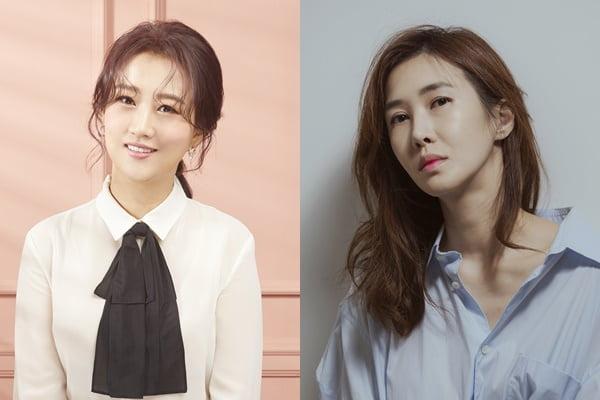 가수 장윤정(왼쪽), 무용수 윤혜진/ 사진=JTBC 제공