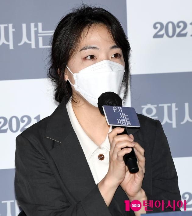 [TEN 포토] 홍성은 감독 '자취경험으로 영화 만들었다'