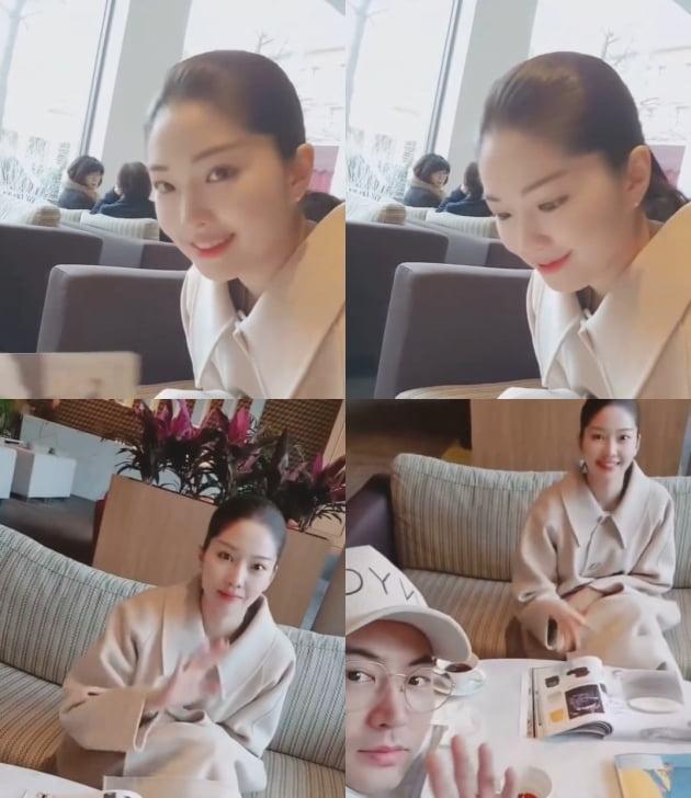 전진의 아내 류이서/ 사진=인스타그램