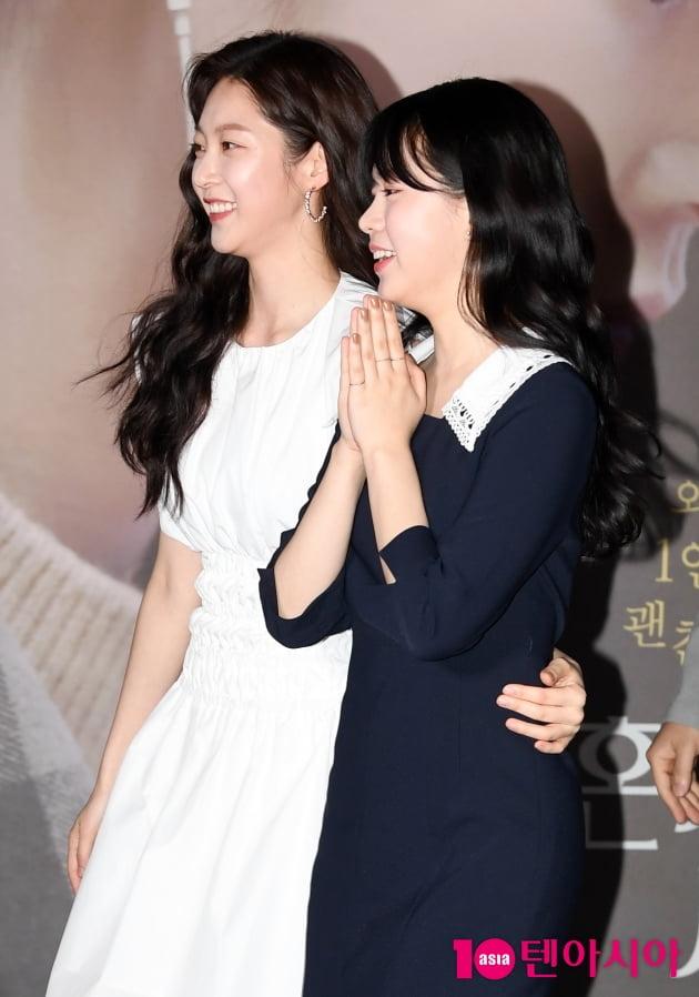 [TEN 포토] 공승연-정다은 '미녀들의 수다'