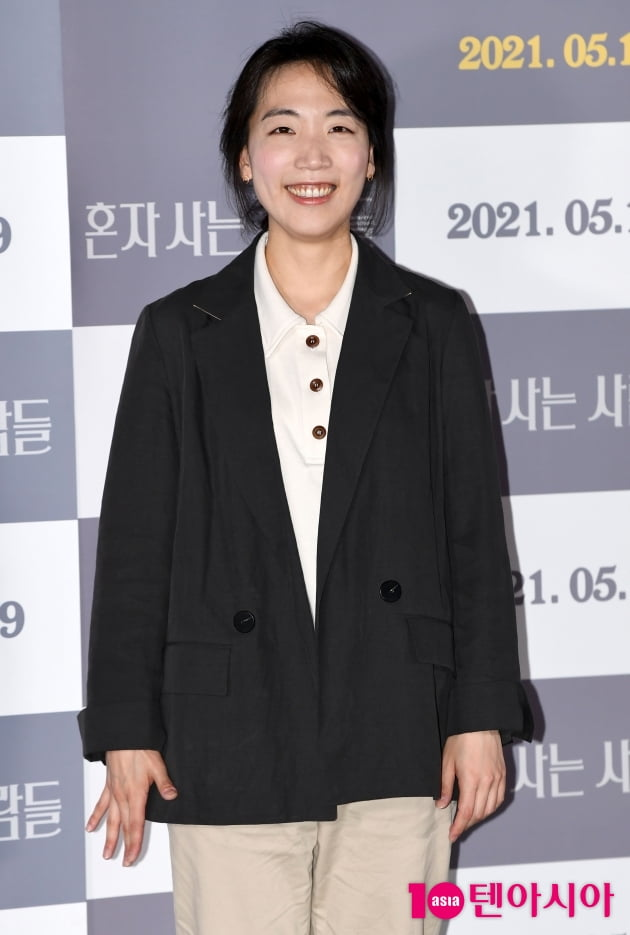 [TEN 포토] 홍성은 감독 '행복바이러스 미소'