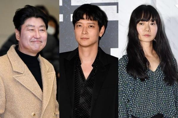 영화 '브로커' 출연을 확정지은 송강호, 강동원, 배두나./