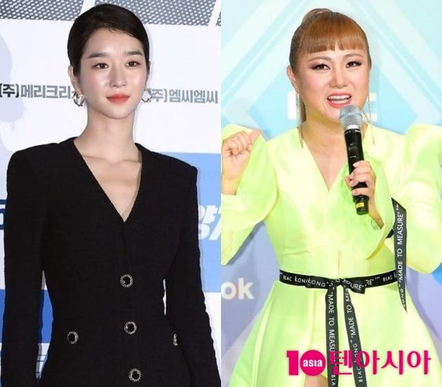 배우 서예지(왼쪽), 방송인 박나래/ 사진=텐아시아DB