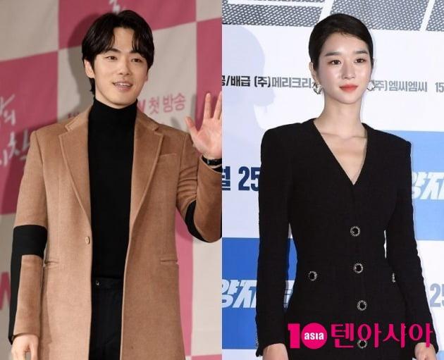 배우 김정현(왼쪽)과 서예지 / 사진=텐아시아DB