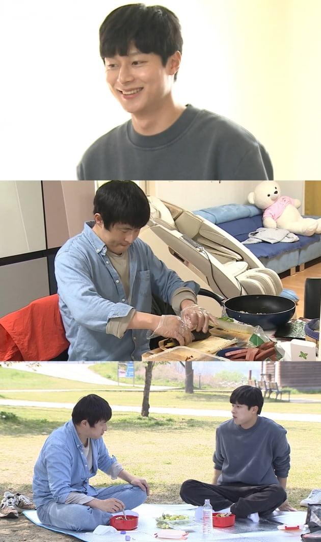 '나혼자산다' 기안84X김충재/ 사진=MBC 제공