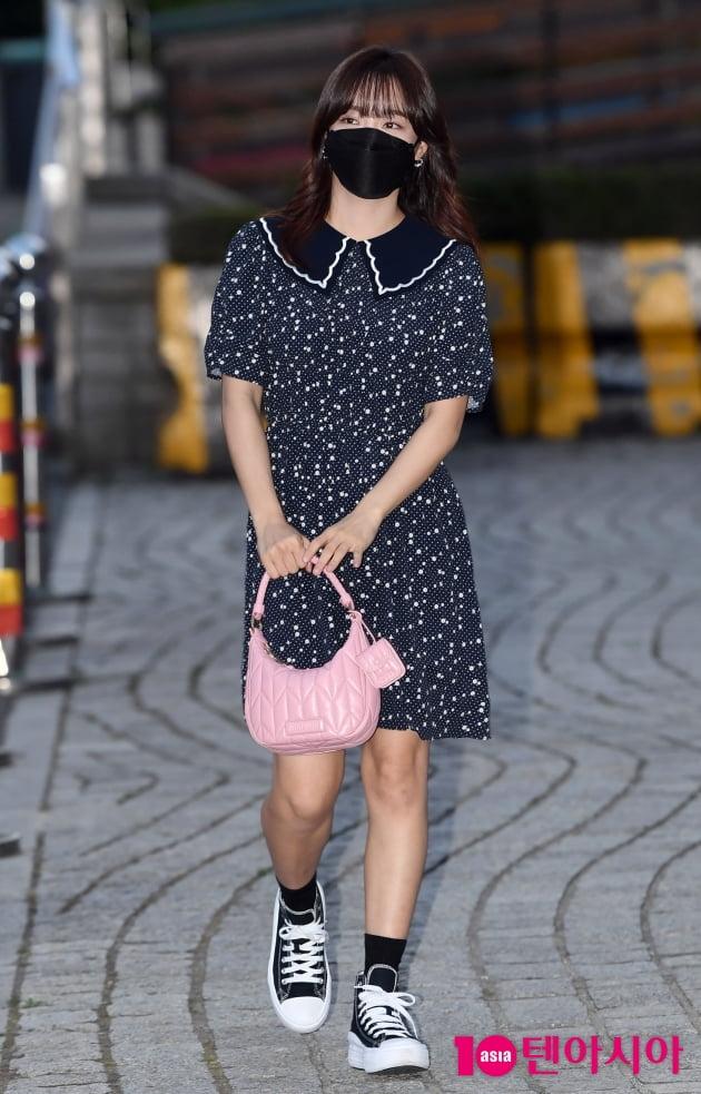 [TEN 포토] 김세정 '강한나의 볼륨을 높여요 스페셜 DJ가 왔어요'