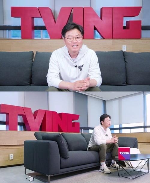 '스프링캠프' 나영석 PD/ 사진=티빙 제공