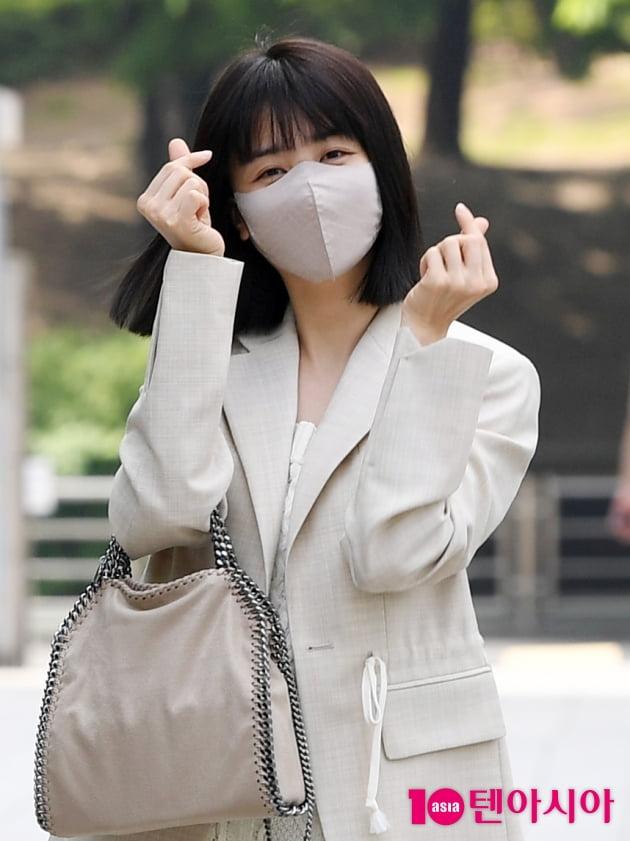 [TEN 포토] 박하선 '하트 뿅뿅'