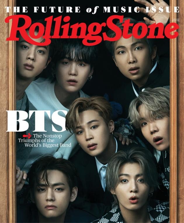 방탄소년단 롤링스톤 표지 /사진 = 롤링스톤(Rolling Stone)