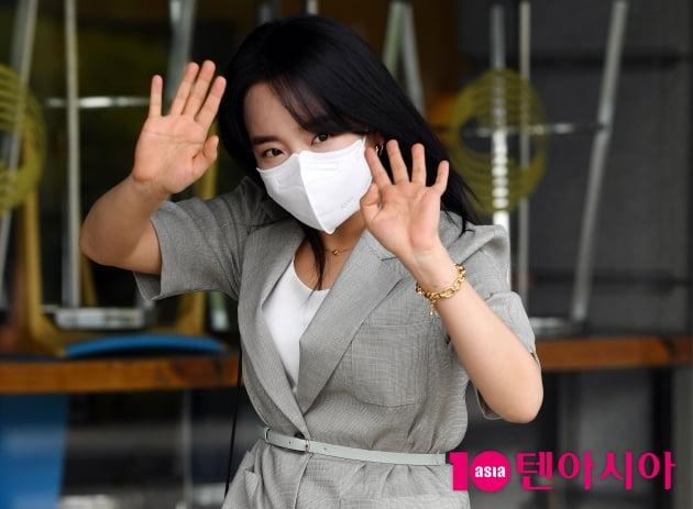 [TEN 포토] 윤하 '귀요미 빠이~'