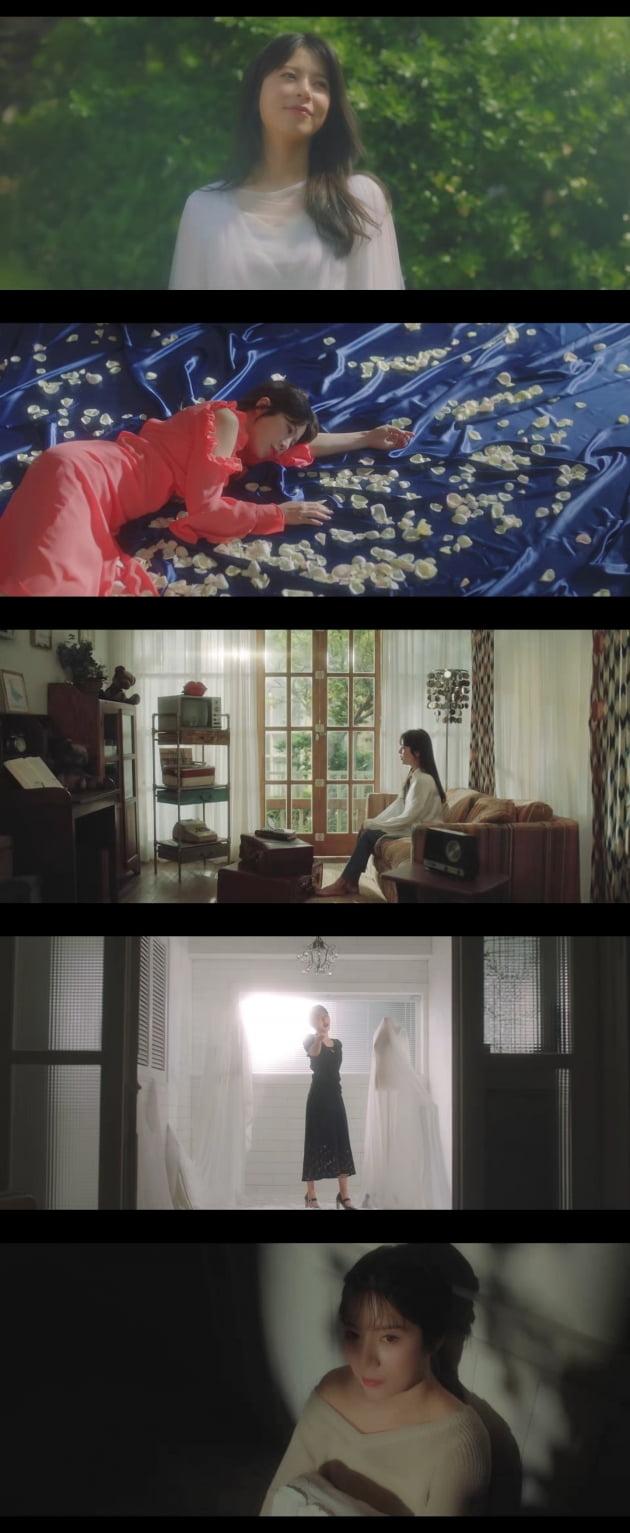 가수 양지은 '사는 맛' 뮤비/ 사진 = '사는 맛' 뮤비 캡처