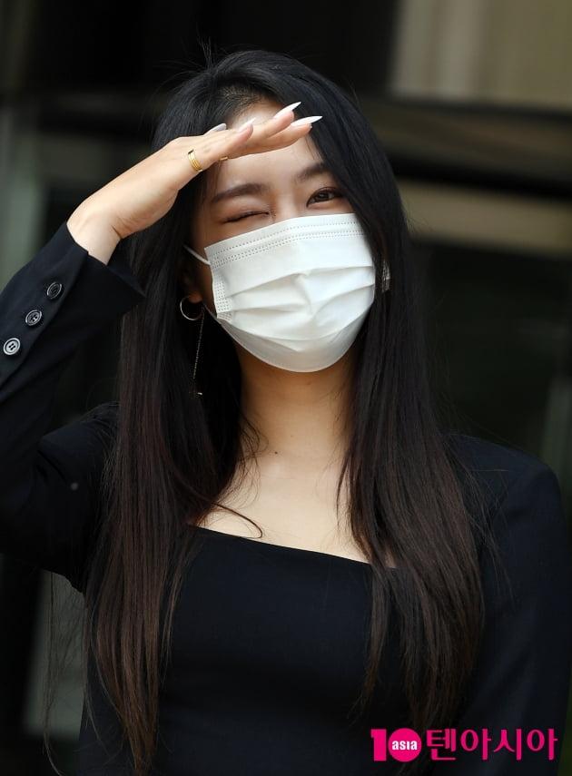 [TEN 포토] 소유 '치명적인 윙크'