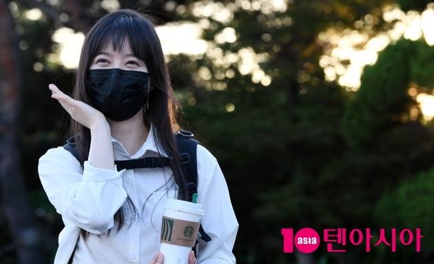 [TEN 포토] 구혜선 '깜짝등장 놀랬죠~'