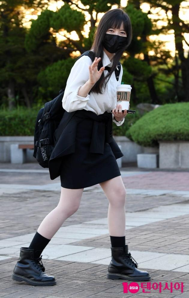 [TEN 포토] 구혜선 '화보같은 퇴근길'