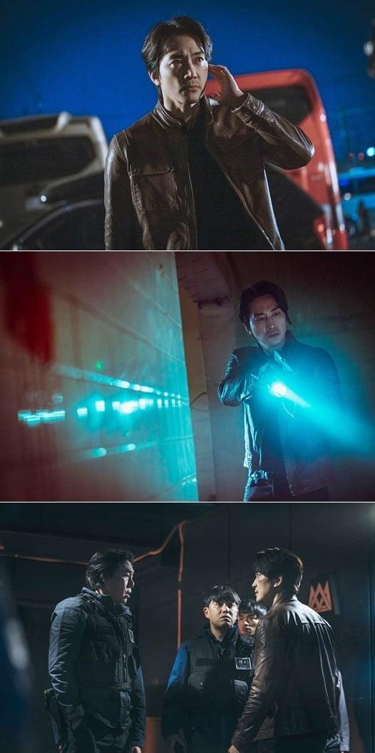 '보이스4' 송승헌./ 사진제공=tvN