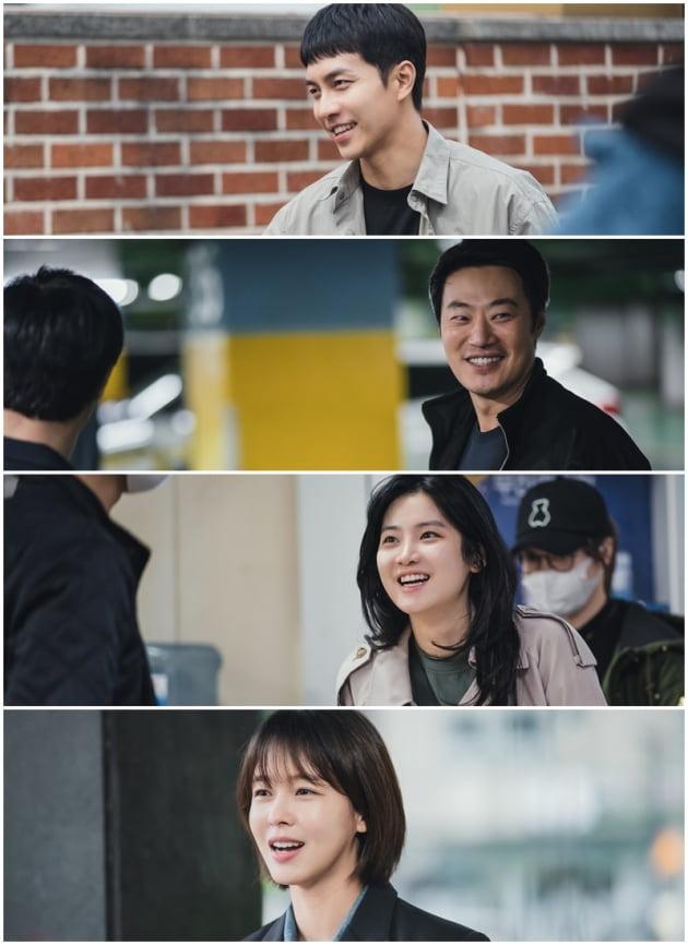 '마우스' 이승기, 이희준, 박주현, 경수진./ 사진제공=tvN