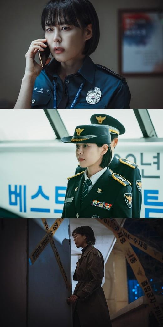 /사진=tvN 새 드라마 '보이스4: 심판의 시간' 현장 스틸컷