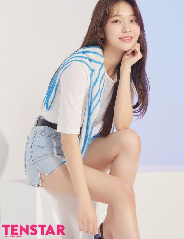 """홍승희 """"아이유 닮은꼴? 언제나 기분좋아지는 말"""" [화보]"""