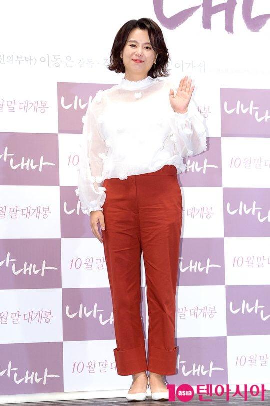 배우 장혜진. /텐아시아DB