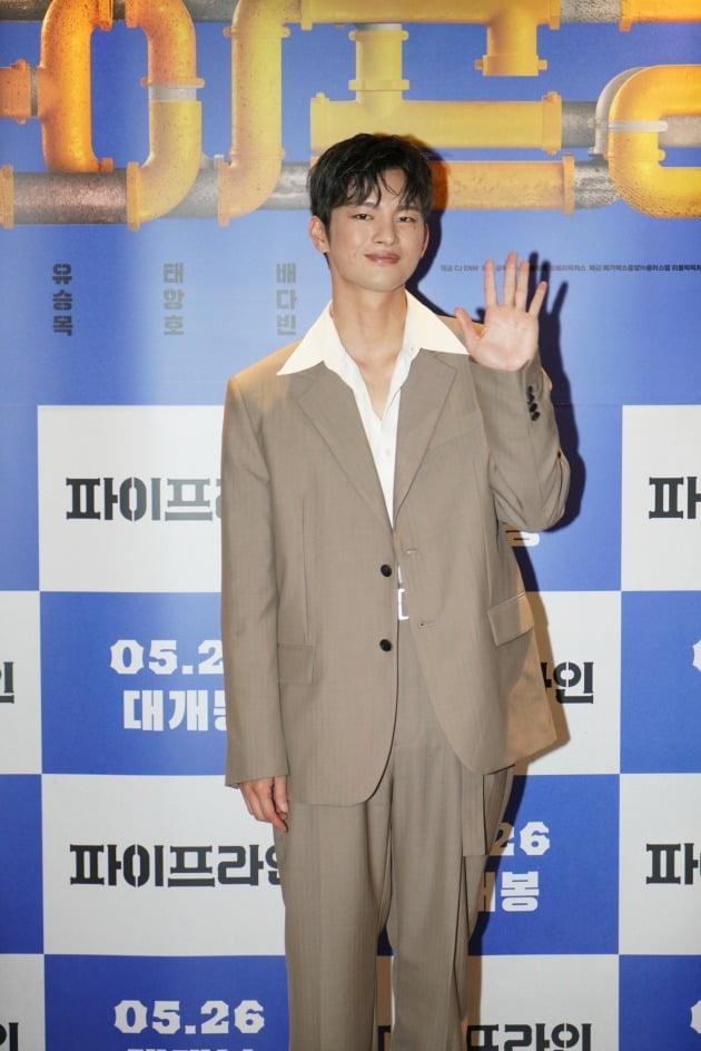 배우 서인국이 20일 열린 영화 '파이프라인' 언론시사회에 참석했다. / 사진제공=메가박스중앙㈜플러스엠, 리틀빅픽처스