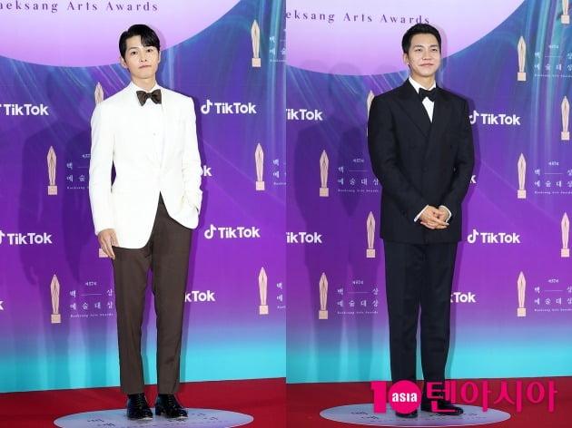 배우 송중기(왼쪽), 이승기. /텐아시아DB